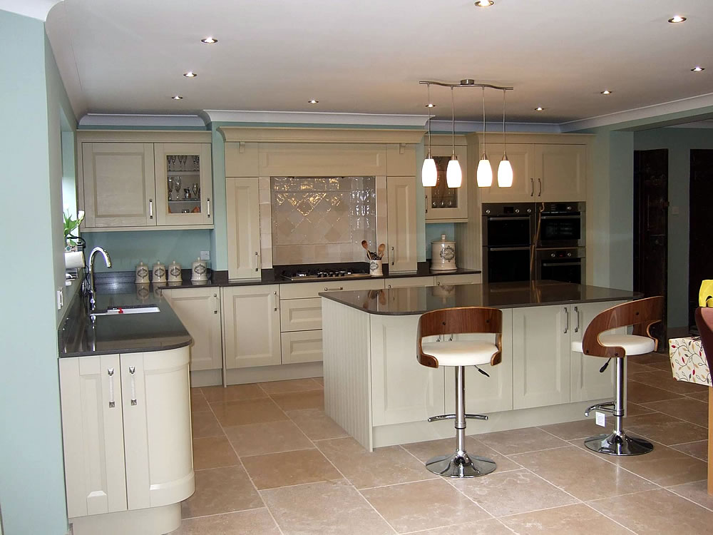 Kitchen fitted by trent kitchens for Fitted kitchens